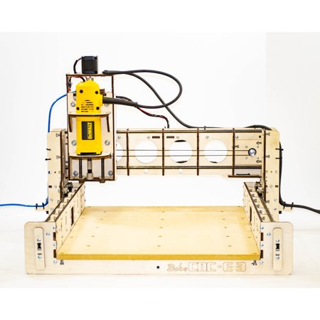 BobsCNC E3 CNC Router Engraver Kit With Router Included, 450-mm X 390-mm Cutting Area And 85-mm Depth Of
