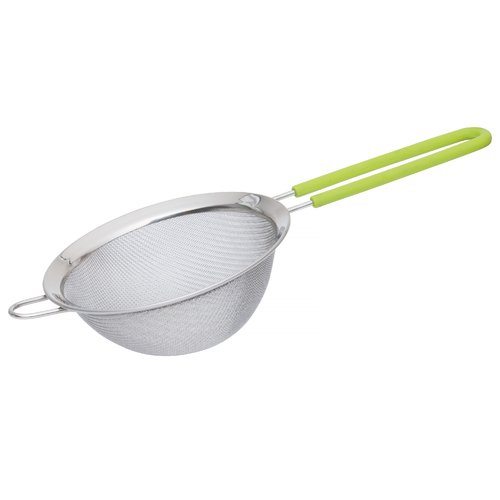 Click here to buy Berghoff CookNCo Strainer 12cm, Lime Handle by BergHOFF International.