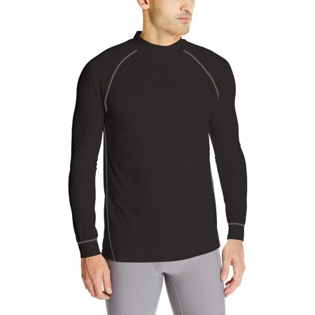- Wolverine Men's Tech Grid Performance Baselayer Long Sleeve Shirt, Black, Size: Medium