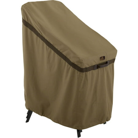 Classic Accessories Hickory Stackable Chair Patio Furniture Storage Cover, Tan