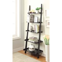 Product Image Convenience Concepts American Heritage 5 Shelf Bookshelf Ladder Multiple Finishes