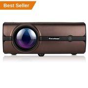 Best Led Projectors - Video Projector, Excelvan +70% Brightness Lumens LED Portable Review