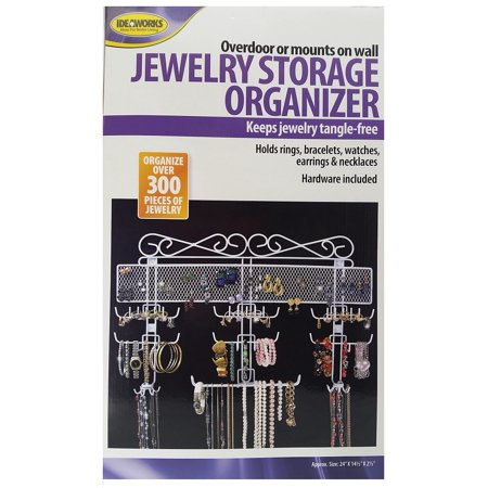 White Organizing Jewelry Valet
