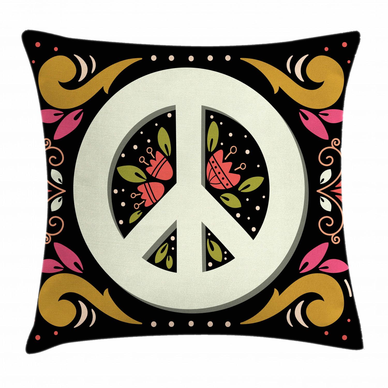 Enoqunt Housses de si/ège de voiture Power color/é Floral Hippie symbolique 60S Kitsch Paisley Retro Set de 2 protecteurs