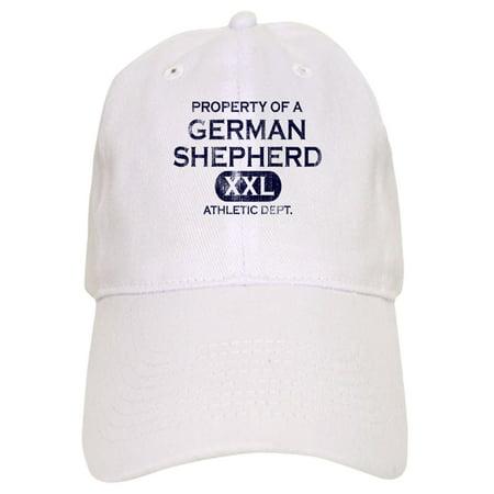 CafePress - Property Of German Shepherd Hat (Khaki) - Printed Adjustable Baseball Cap (German Hat)