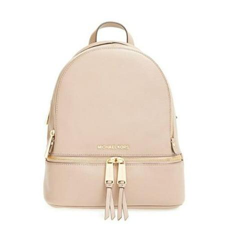 b18b2df266d9ca Michael Kors - Rhea Zip Small Leather BackPack 30S5GEZB1L-187 - Walmart.com