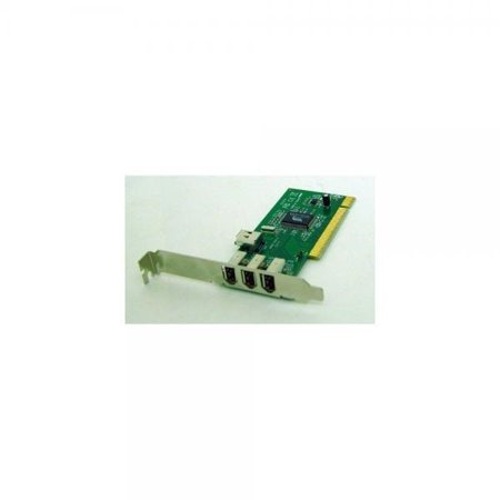 SYBA PCI to FireWire 3 + 1-port Controller Card w/ Cable [OEM]