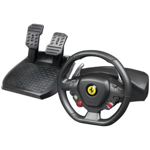 Thrustmaster Ferrari 458 Italia Thrustmaster Ferrari 458 Italia Gaming Steering Wheel - Cable - USBXbox 360, PC - 9.84 ft Cable