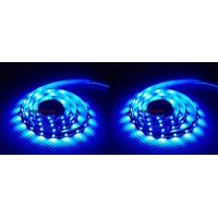 2 x Quantity of Helicopter Quadcopter Airplane Boat Car Controller Turnigy High Density R/C LED Flexible Strip - BLUE (1 meter) Night Flying