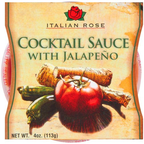 Italian Rose Cocktail Sauce with Jalapeno, 4 oz