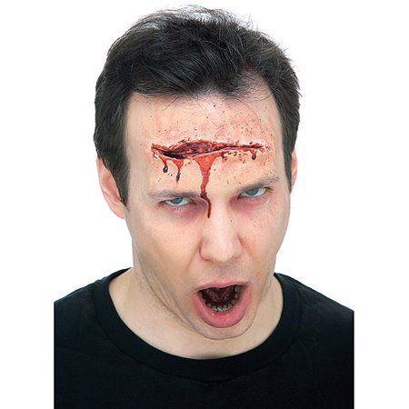 Large Gash Prosthetic Adult Halloween - Halloween Gashes