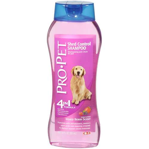 Pro Pet: Mixed Berry Scent Shed Control Shampoo, 20 fl oz