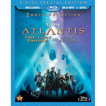 Atlantis: The Lost Empire 2-Movie Collection (Blu-ray +