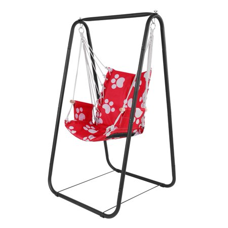 Groovy Herchr Garden Yard Hammock Stand Chair Kid Swing Seat Indoor Outdoor With Hanging Rope Swing Chair Swing Seat Uwap Interior Chair Design Uwaporg