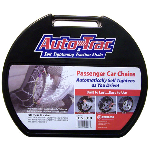 Peerless Auto-Trac Passenger Car Tire Chains, #155010