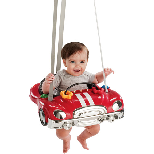 Evenflo- Car Doorway Jumper, Red