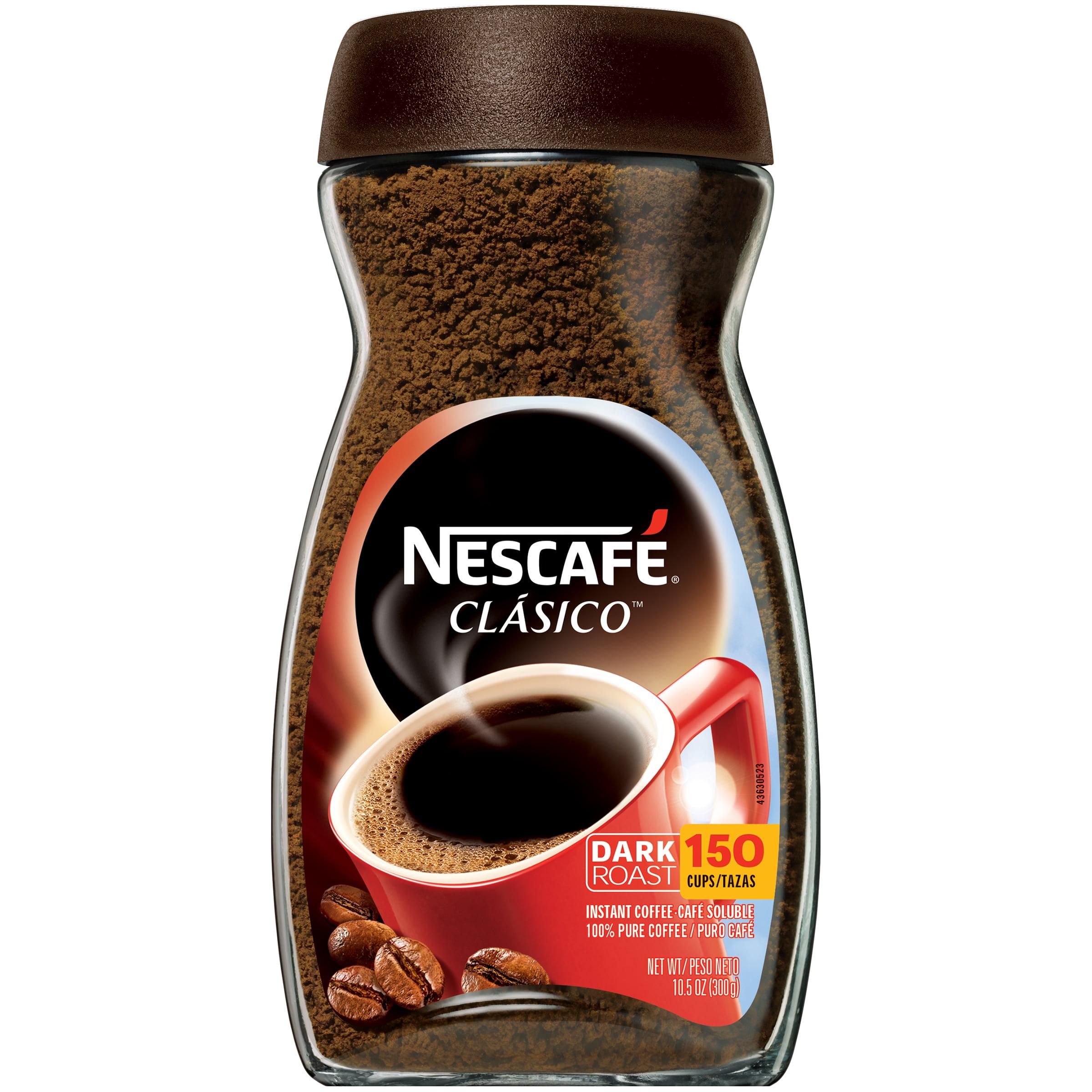 NESCAFE CLASICO Instant Coffee 10.5 oz. Jar