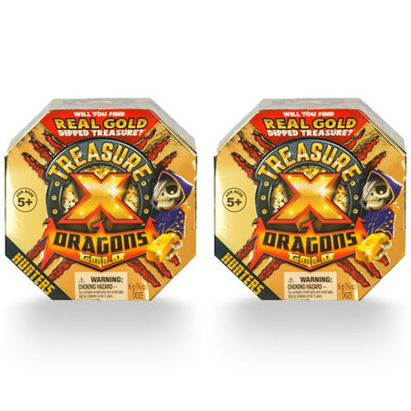 Treasure X Quest For Dragons Gold, Treasure Hunter 2-Pack