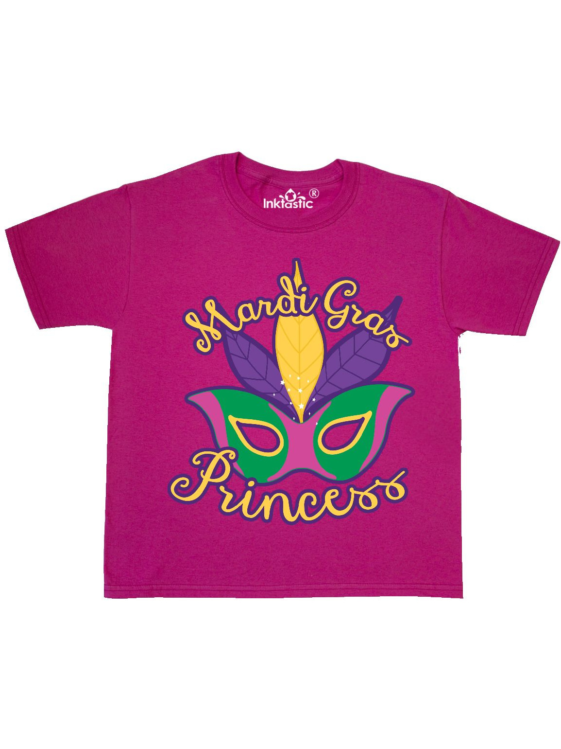 Mardi Gras Princess Youth T-Shirt