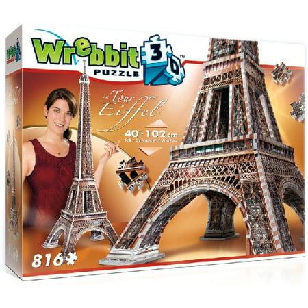 Wrebbit 3D: Eiffel Tower, France Foam Puzzle (916pcs) Wrebbit 3D: Eiffel Tower, France Foam Puzzle (916pcs)