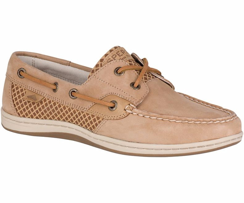 Sperry Mens Koifish Etched Boat Shoess Linen by SPERRY