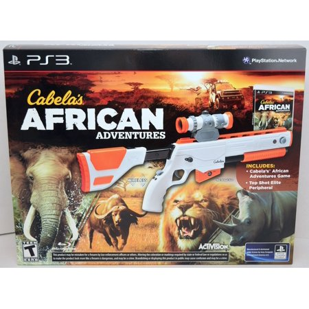 Cabela's African Adventures Bundle (Includes Game & Top Shot Elite Gun Controller) Sony