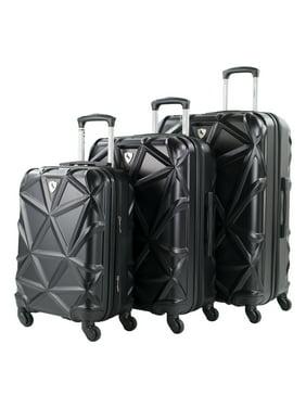 Gem 3-Piece Hardside Expandable Spinner Luggage Set