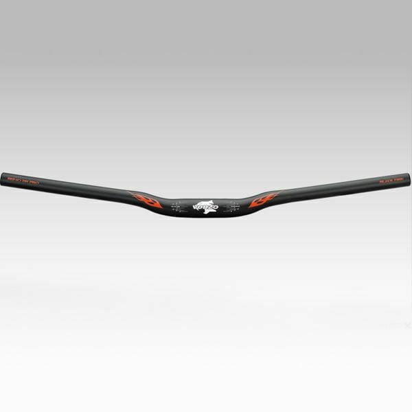 Venzo Mountain Bike Downhill Handlebar Kit Grips Stem Black