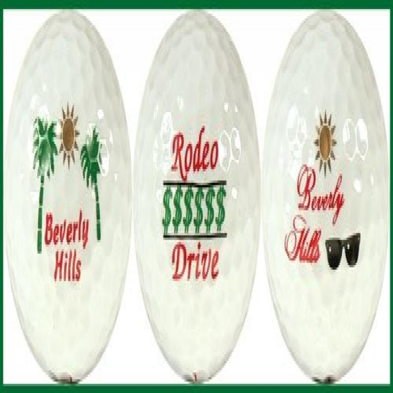 Beverly Hills Variety Golf Ball Gift Set by