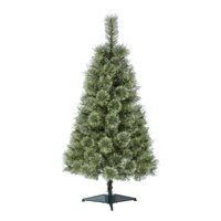 Holiday Time Prelit Conical Christmas Tree 4 ft, Green