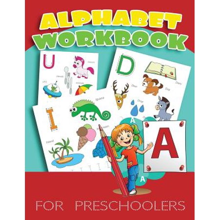 Christmas Crafts For Preschoolers (Alphabet Workbook for Preschoolers : Letter Tracing Practice Book for Preschoolers, Kindergarten (Printing for Kids Ages 3-5)(1
