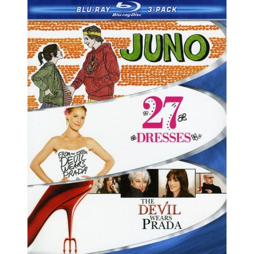 Chick Flick 3 Pack: Juno / 27 Dresses / The Devil Wears Prada (Blu-ray) (Widescreen)