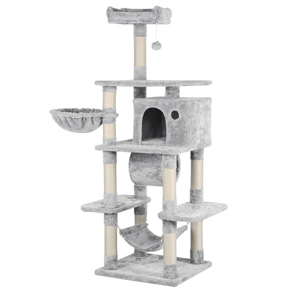 Yaheetech 69.5-inch H Multi Level Cat Tree Tower for Large ...