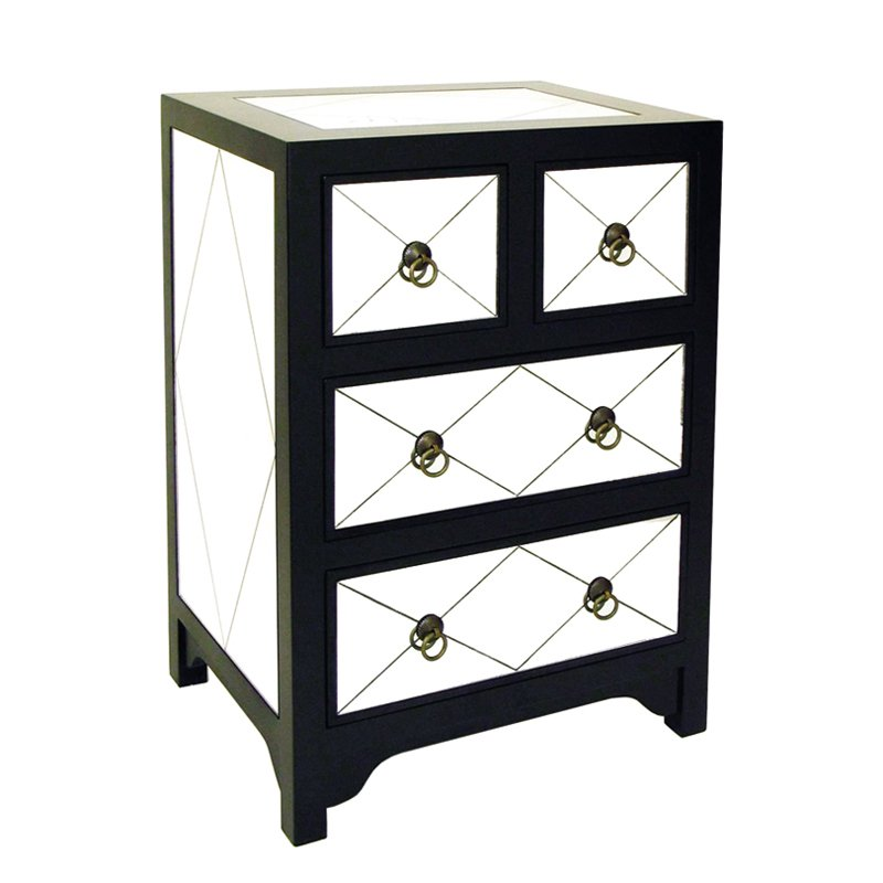 Tanner 4 Drawer Mirror Chest