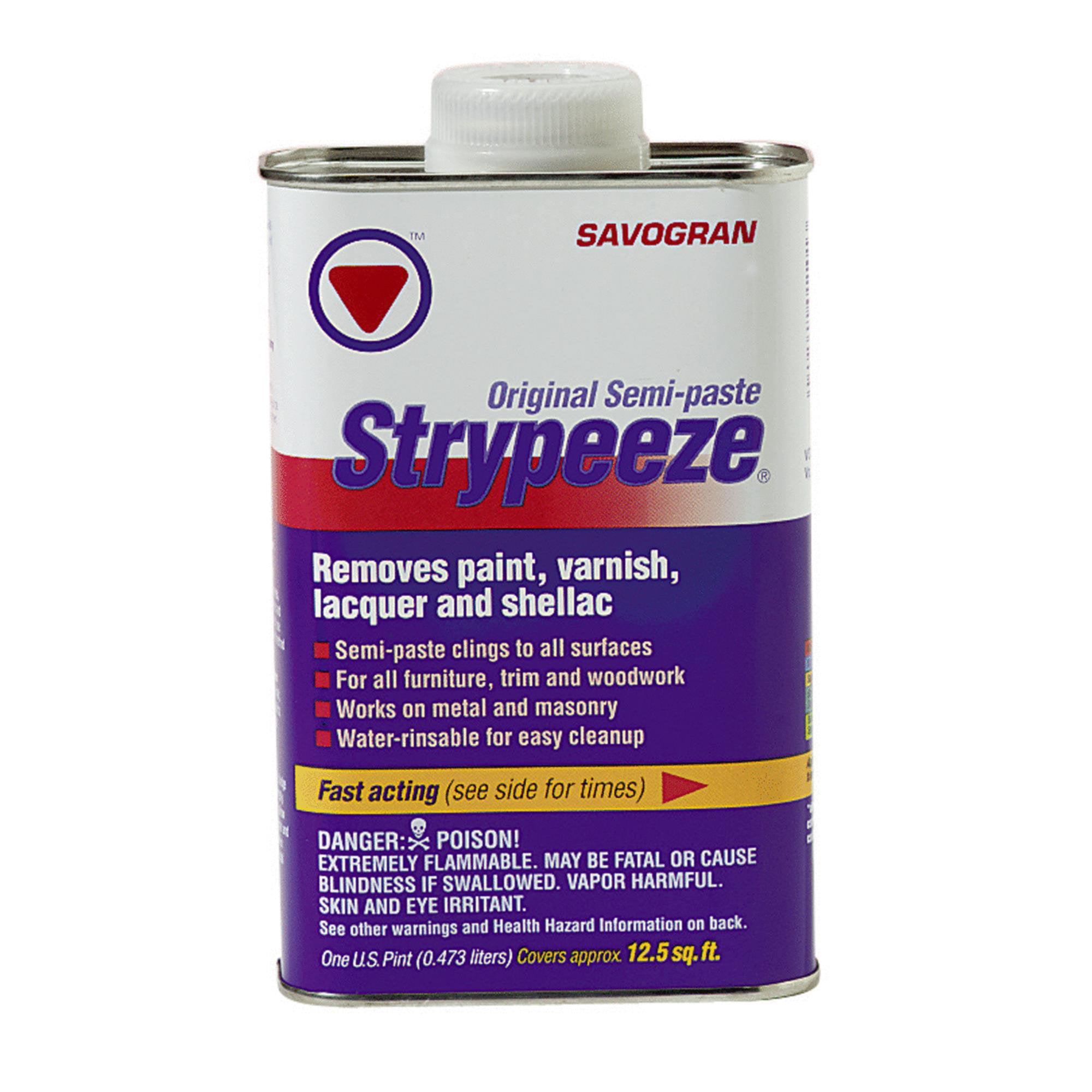 Savogran Strypeeze Paint & Varnish Stripper