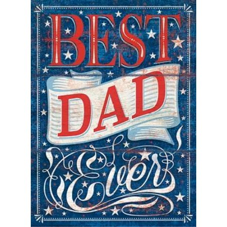 Best Dad Ever Poster Print by PS Art Studios