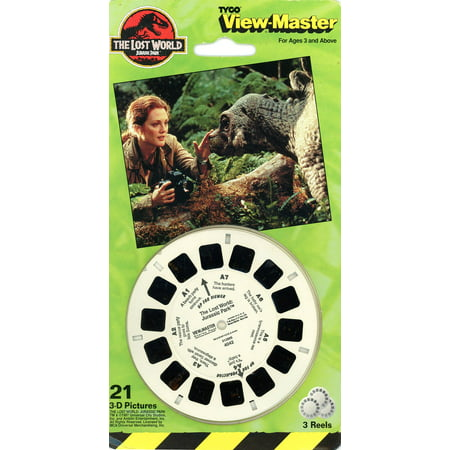 Lost World - Jurassic Park - Classic ViewMaster - 3 Reel Set ()