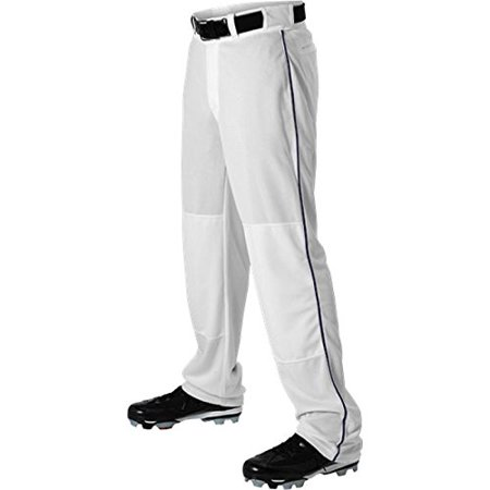 Alleson Athletic Womens Softball - Alleson Adult Braided Hemmed Baseball Pant, Synthetic By Alleson Athletic from USA