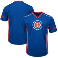 Men's Majestic Royal/Red Chicago Cubs Big & Tall Memorable Moments T-Shirt