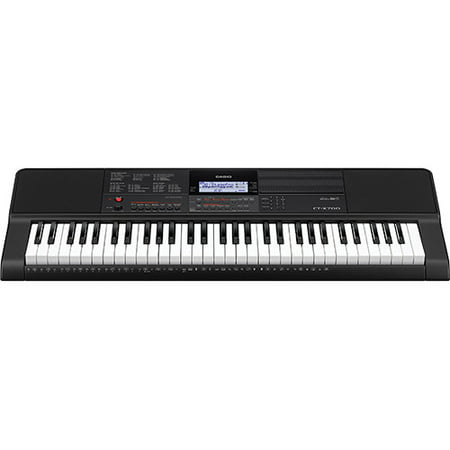 Casio CT-X700 61-Key Touch Sensitive Portable Keyboard with Power