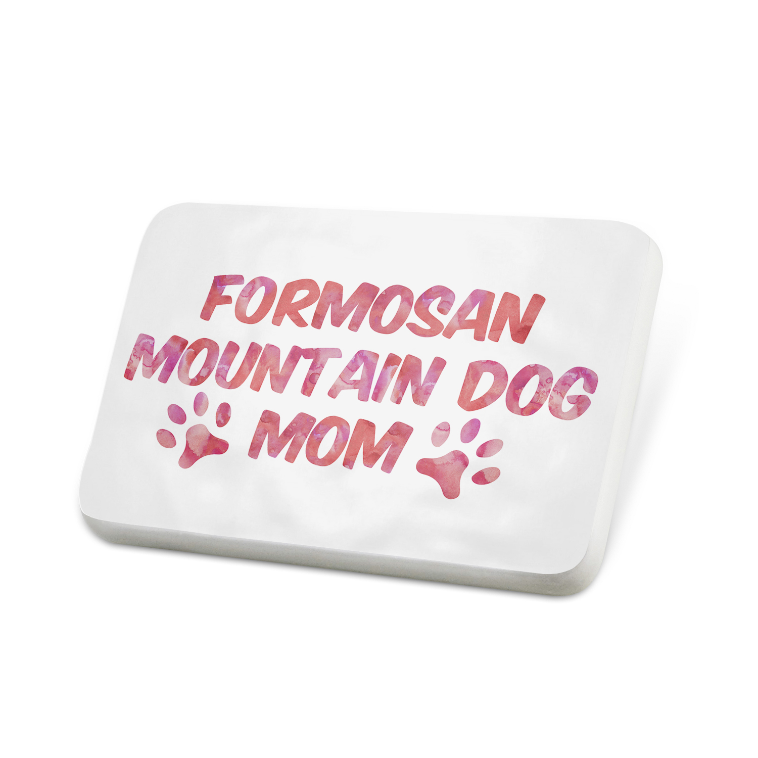 Porcelein Pin Dog & Cat Mom Formosan Mountain Dog Lapel Badge – NEONBLOND