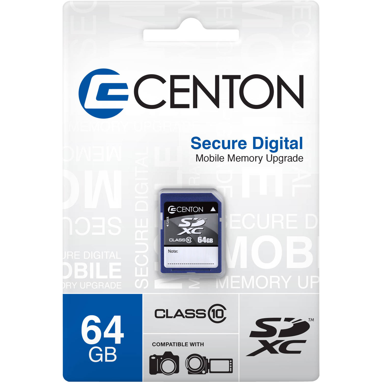 Centon 64GB Class 10 SD Card