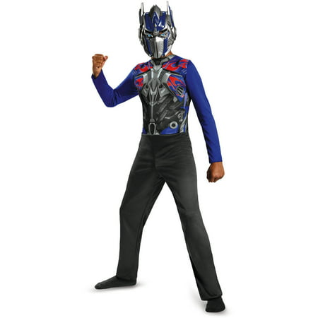 Transformers Movie 4 Optimus Prime Basic Child Halloween Costume, One Size - S (4-6)](Transformer Costume)