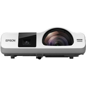 Ntsc Projection Tv - Epson V11H670022 Epson BrightLink 536Wi LCD Projector - 720p - HDTV - 16:10 - Front - Interactive1.6 - UHE - 215 W - NTSC, PAL, SECAM - 5000 Hour - 10000 Hour - 1280 x 800 - WXGA -