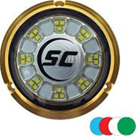 Rgb Full Color Changing Underwater Light Bronze Walmart Com