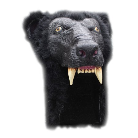 Adult Black Bear Halloween Helmet - Halloween Ghoulish Appetizers