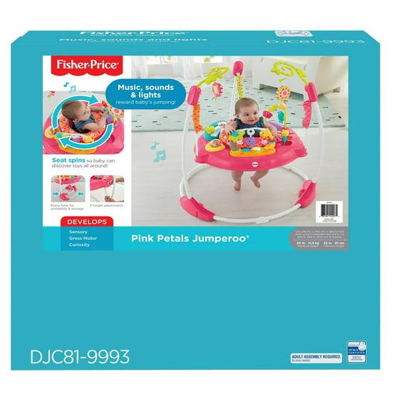 49831799b832 Fisher-Price Pink Petals Jumperoo - Walmart.com