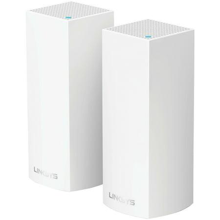 Linksys WHW0102 Velop Intelligent Mesh Wi-Fi System, 2 Pk