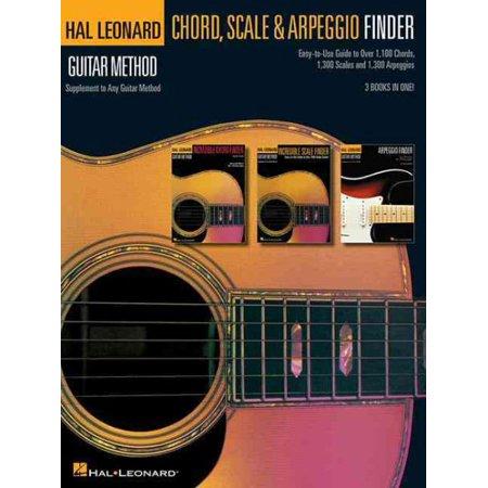 Guitar Chord, Scale & Arpeggio Finder Hal Leonard Master Scale