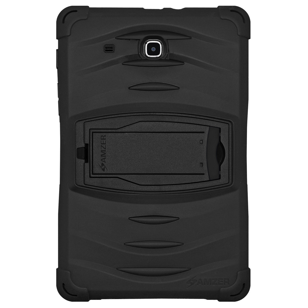 Samsung Galaxy Tab E 9.6 inch Case Rugged 3 Layer TUFFEN Advance Protection Shock Proof Cover with Built-in Screen Protector